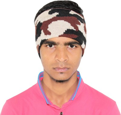 Goodluck Solid Wollen Head Band Cap  available at flipkart for Rs.259