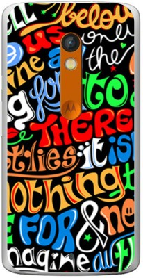 Stylephone Back Cover for Motorola Moto X Play Multicolor
