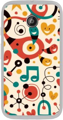 Stylephone Back Cover for Motorola Moto E  1st Gen  Multicolor