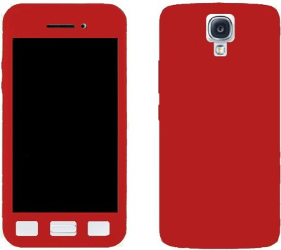 BrewingQ Front & Back Case for SAMSUNG Galaxy S4(Red, Dual Protection)