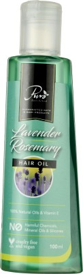 Puro Body & Soul Lavender Rosemary Head Massage Oil Hair Oil(100 ml)  available at flipkart for Rs.255
