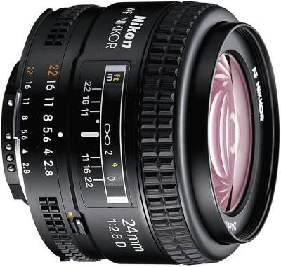 Nikon AF NIKKOR 24mm f/2.8D Lens�� Lens(Black, 70-200) 1