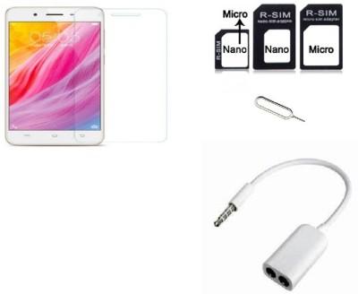 MudShi Screen Protector Accessory Combo for Lenovo P55(Multicolor)