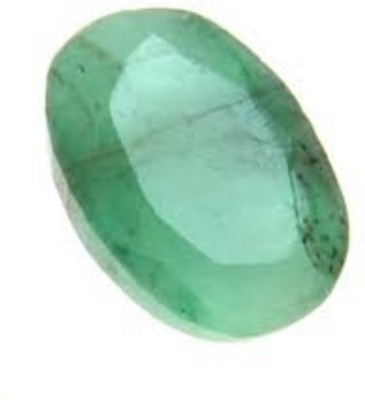Durga Gems & Jewellers Emerald Stone Original 7.50 Ratti Natural Certified Loose Precious Panna Gemstone Emerald Stone at flipkart