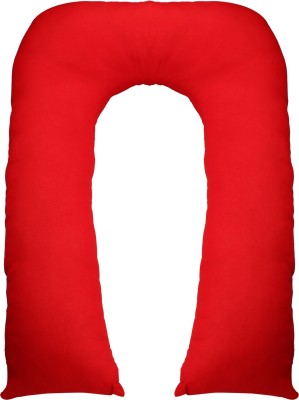 Mamma's Maternity Solid Pregnancy Pillow Pack of 1(Red)
