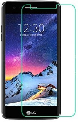 S-Line Tempered Glass Guard for LG K8 - 2017(Pack of 1)