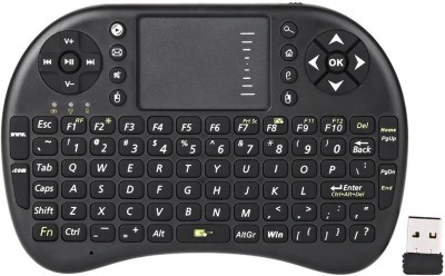 MBOX 2.4GHz Portable Mini Wireless Keyboard with Touchpad Mouse for Android TV BOX,PC,PAD,XBOX 360,PS3,HTPC,IPTV Media Streaming Device(Black)