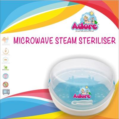 Adore Microwave Steam Steriliser - 6 Slots(Blue, Green)