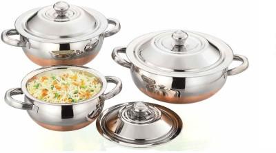 AIRAN Shahi pot Cookware Set Steel, 1   Piece