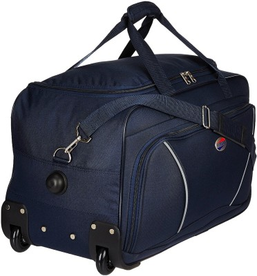 American Tourister (Expandable) Vision Duffel Strolley Bag(Blue)