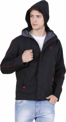 Forest Club Reversible Solid Men Wind Cheater