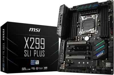 MSI Pro Series Intel X299 LGA 2066 DDR4 USB 3.1 SLI ATX X299 SLI PLUS Motherboard
