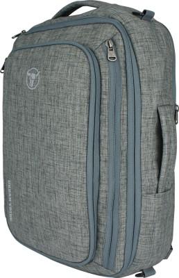 Urban Tribe Trans4mer v2.0 Ash Melange Multipurpose Laptop Backpack cum Messenger Bag cum overnighter cum Briefcase 20 L Laptop Backpack Grey Urban Tr
