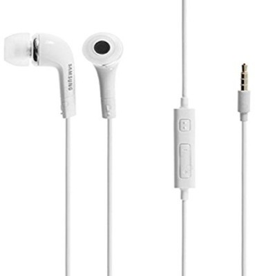 TopamTop Earphone/Handsfree For - White Wired Headphone(White, In the Ear)