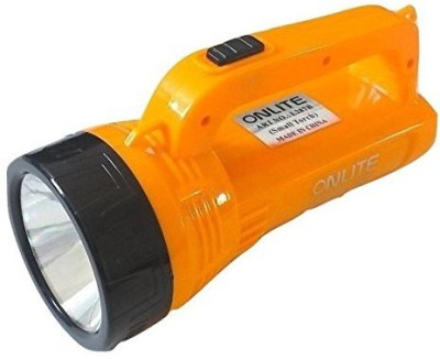 Onlite OL-287B Torch(Orange : Rechargeable) at flipkart