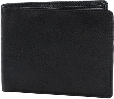 Dumeril Men Black Artificial Leather Wallet 6 Card Slots
