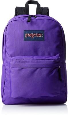 JanSport Superbreak Signature 25 L Backpack(Purple)
