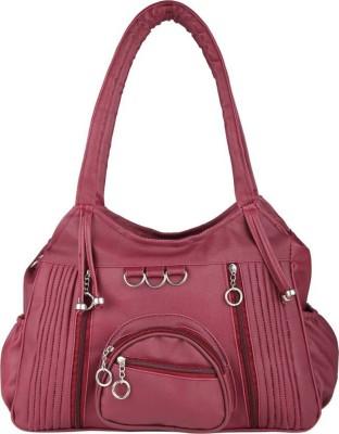 Aj style Women Maroon Shoulder Bag Aj style Handbags
