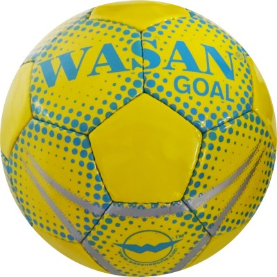 Wasan Goal Football -   Size: 5(Pack of 1, Green)