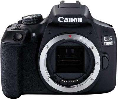 Canon EOS 1300D Body Only DSLR Camera Body only(Black)  available at flipkart for Rs.22999