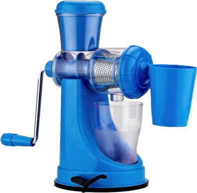 THUNDERFIT shree Plastic, Steel Hand Juicer(Blue Pack of 1) at flipkart