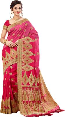 M.S. Retail Self Design Kanjivaram Silk Saree