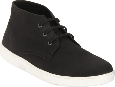 Bond Street By Red Tape Men Casual Chukka Boots For Men(Black)
