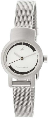 Fastrack NJ2298SM01C  Analog Watch For Women