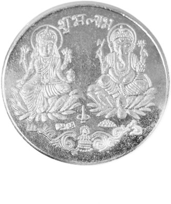 Spiritual Max Shri Laxmi Ganesh Siddh Coin Brass Yantra(Pack of 1)  available at flipkart for Rs.178