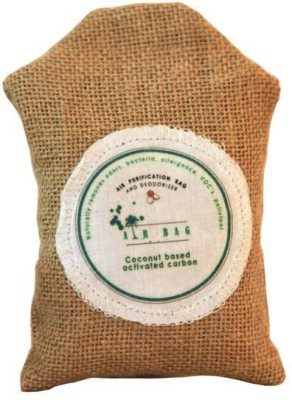 The Tree Company Air Bags- Air Purifying Bag/Deodorizer -100% Coconut Activated Carbon Naturally Purifies Air Removes Odors 100g Portable Room Air Purifier(Brown)  available at flipkart for Rs.499