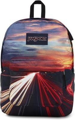 JanSport High Stakes Multi Traffic Lights 25 L Backpack(Multicolor)