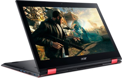 Acer Nitro 5 Spin Core i5 8th Gen - (8 GB/1 TB HDD/Windows 10 Home/4 GB Graphics) NP515-51 Laptop(15.6 inch, Black, 2.2 kg) image