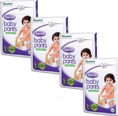 Himalaya Total Care Anti-Rash Baby Pants (54 PCS, Pack of 4, L)