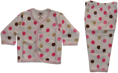 Cradle Togs Baby Boys & Baby Girls Casual Top Pyjama(Pink)