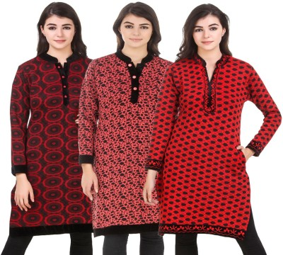 KRITIKA WORLD Festive & Party Self Design Women