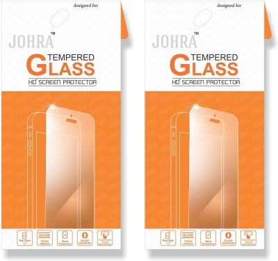 Johra Tempered Glass Guard for Samsung Galaxay J2 Ace(Pack of 2)