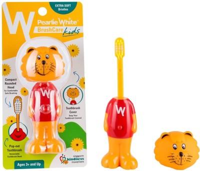 pearlie white BrushCare Kids (Singa Lion) Extra Soft Toothbrush