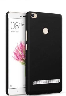 Sarju Back Cover for Mi Redmi 3S Prime Black