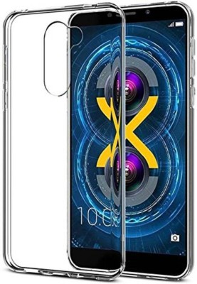 Micvir Back Cover for Lenovo K8 Plus(Transparent, Flexible Case)