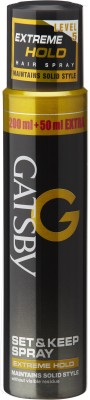 Gatsby Set & Keep Spray Extreme Hold Spray(250 ml)