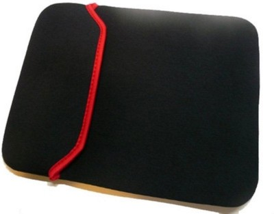 AVITRA Everything for Everyone 8 inch Expandable Sleeve/Slip Case(Black, Red)  available at flipkart for Rs.149