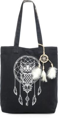 The House of Tara Women White, Black Shoulder Bag The House of Tara Handbags