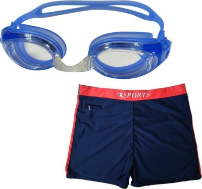 L'AVENIR Swimming Goggles & Trunk Swimming Kit