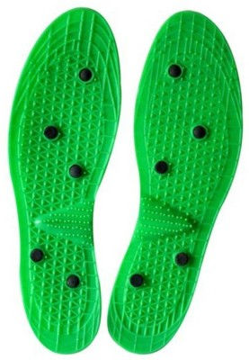N.P y1 YOKO ORIGINAL HEIGHT INCREASE DEVICE MAGNETIC FOOT PADS SOLE FOR NATURAL FITNESS Massager(Green)  available at flipkart for Rs.134
