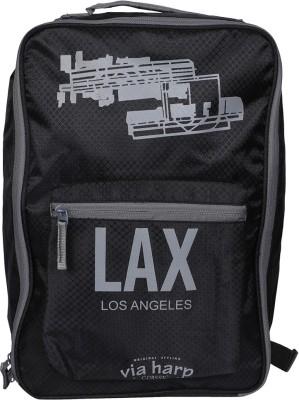 Shopharp airport Noir 12 L Laptop Backpack Black Shopharp School Bags