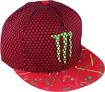 GVC Embroidered Monster Snapback Net Cap