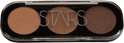 Star's Cosmetics Eye Crome Palette No.01- Soft Gold/Sand Bronze/Mocha Bronze , 12 gms 12 g(NA)