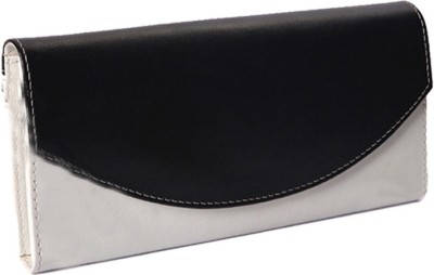 TR Fashion Casual White, Black Clutch TR Fashion Clutches   Wallets