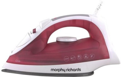 Morphy Richards Glide 1250 W Steam Iron(Wine Red)