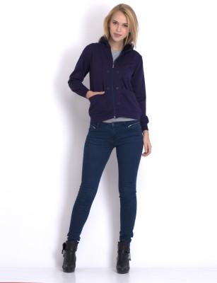 Belle Fille Full Sleeve Solid Women Jacket